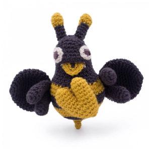 Myum- abeille en crochet