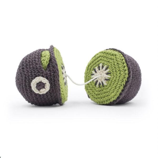 Myum- kiwi en crochet