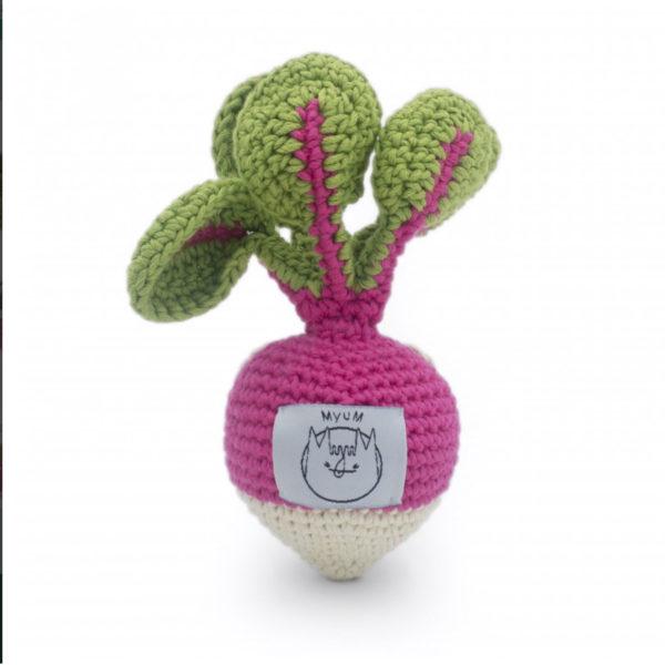Myum- radis en crochet