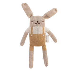 main sauvage - lapin salopette ocre