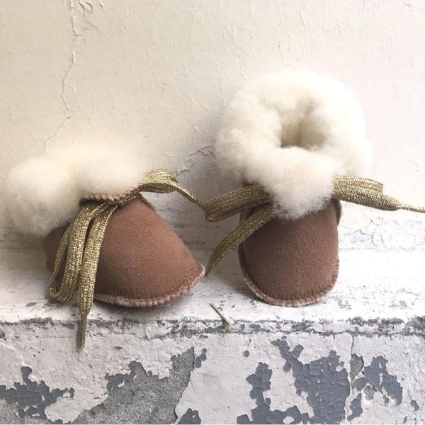 chaussons peau de mouton
