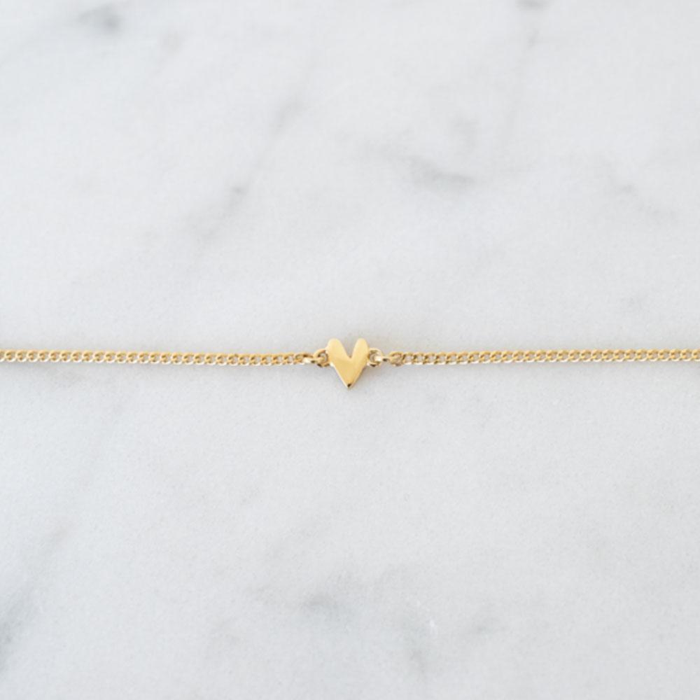 bracelet petit coeur - Grizzly cheri