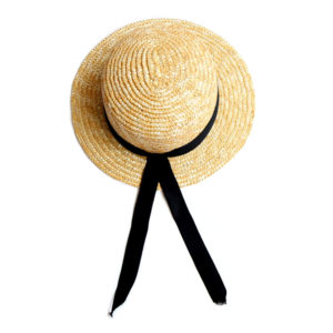becauseimlittle chapeau canotier