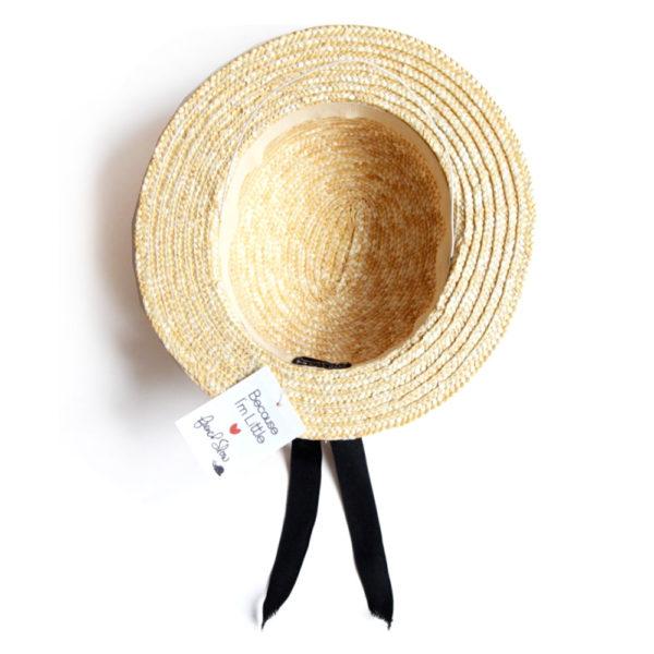 becauseimlittle chapeau canotier