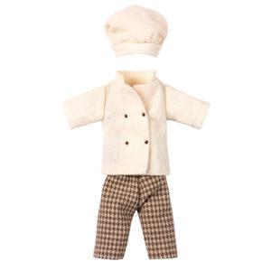 Maileg vêtement de souris cuisinier
