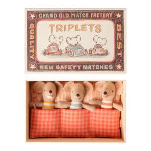 souris triplette Maileg