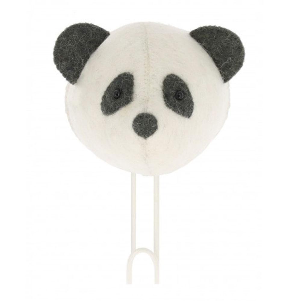 crochet tête de panda Fiona Walker