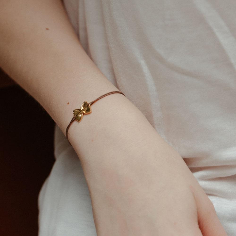 bracelet les inséparables farfalle - grizzly cheri