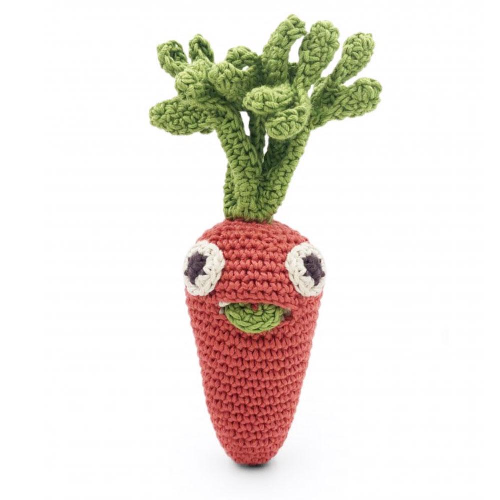hochet carotte en crochet - Myum