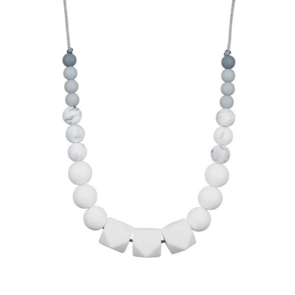 collier d'allaitement blanc - Minty wendy