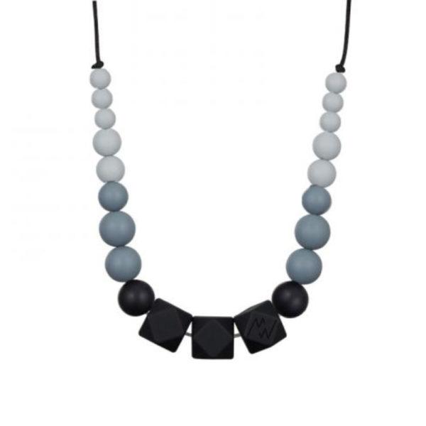 collier d'allaitement - Minty wendycollier d'allaitement gris - Minty wendy