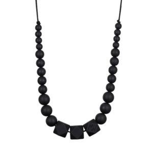 collier d'allaitement noir - Minty wendy